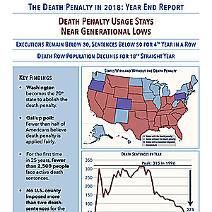 The Death Penalty in 2018: Year End Report