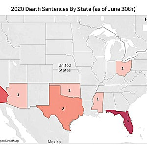 DPIC 2020 MID-YEAR REVIEW: Pandemic and Continuing Historic Decline Produce Record-Low Death Penalty Use