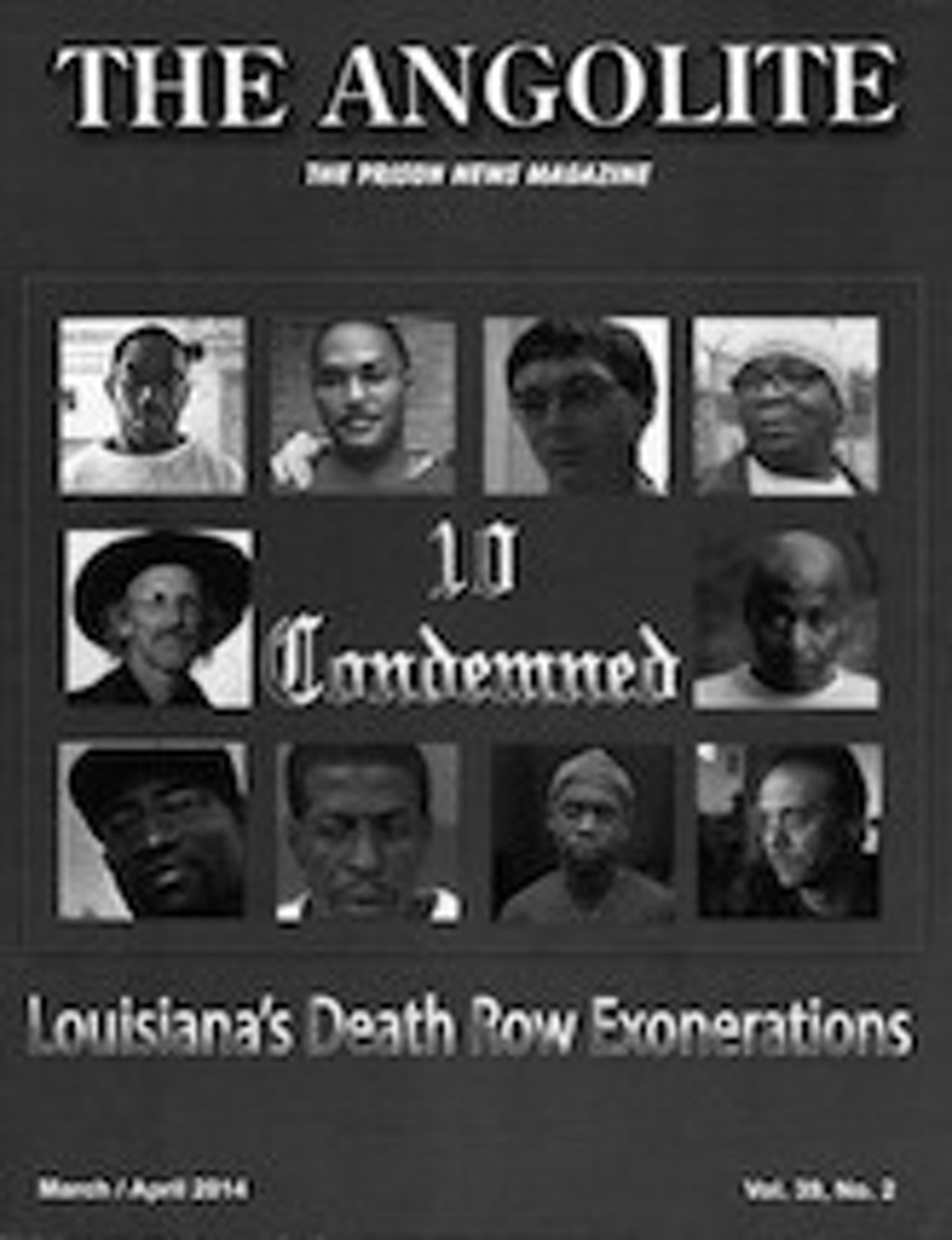 The Angolite Features Louisiana's Death Row Exonerees