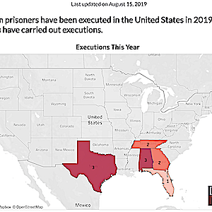 DPIC MID-YEAR REVIEW: At Midpoint of 2019, Death Penalty Use Remains Near Historic Lows