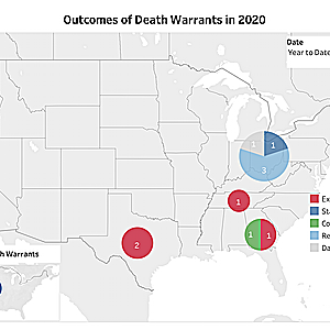 News & Developments — Death Warrants and Stays Through February 2020