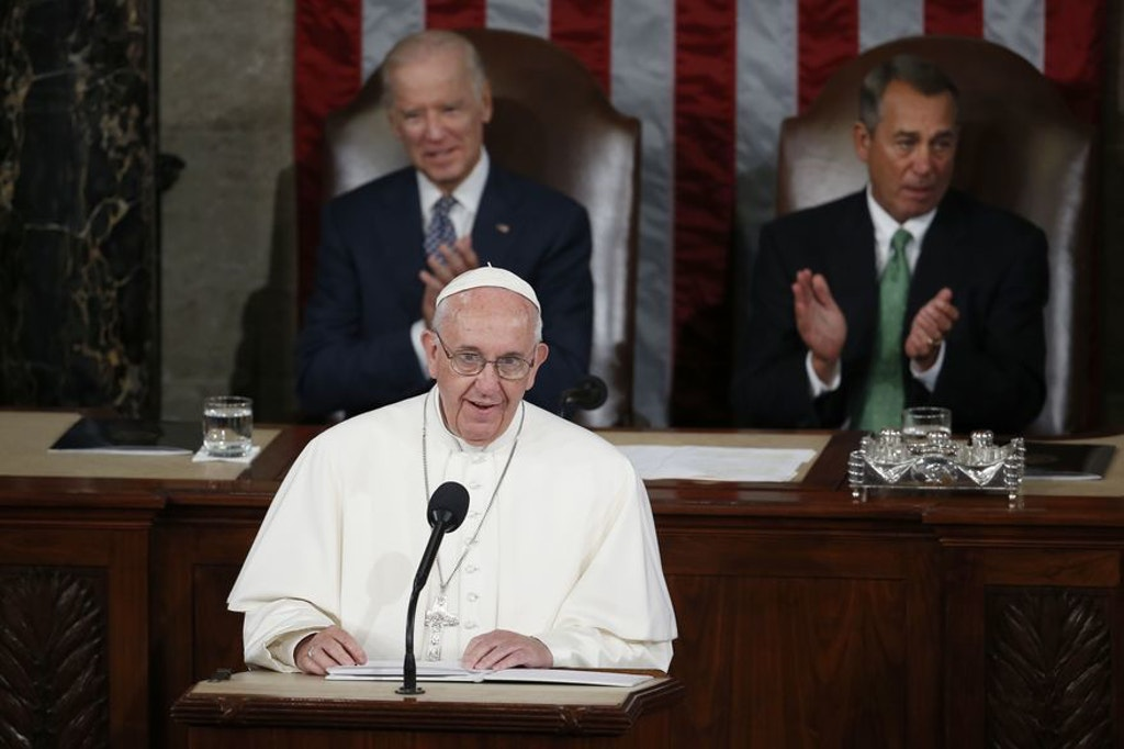 In Address to Congress, Pope Francis Calls for Abolition of Death Penalty