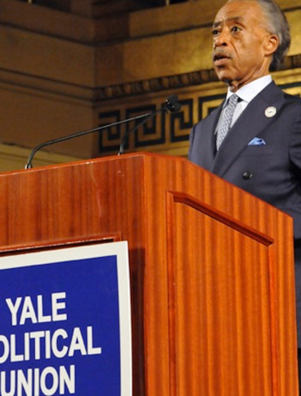 NEW VOICES: Al Sharpton Debates the Death Penalty at Yale