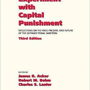"""BOOKS: """"America's Experiment with Capital Punishment"""""""