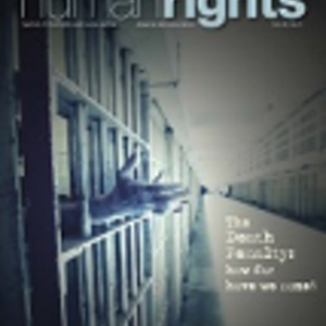 American Bar Association Human Rights Magazine on Capital Punishment