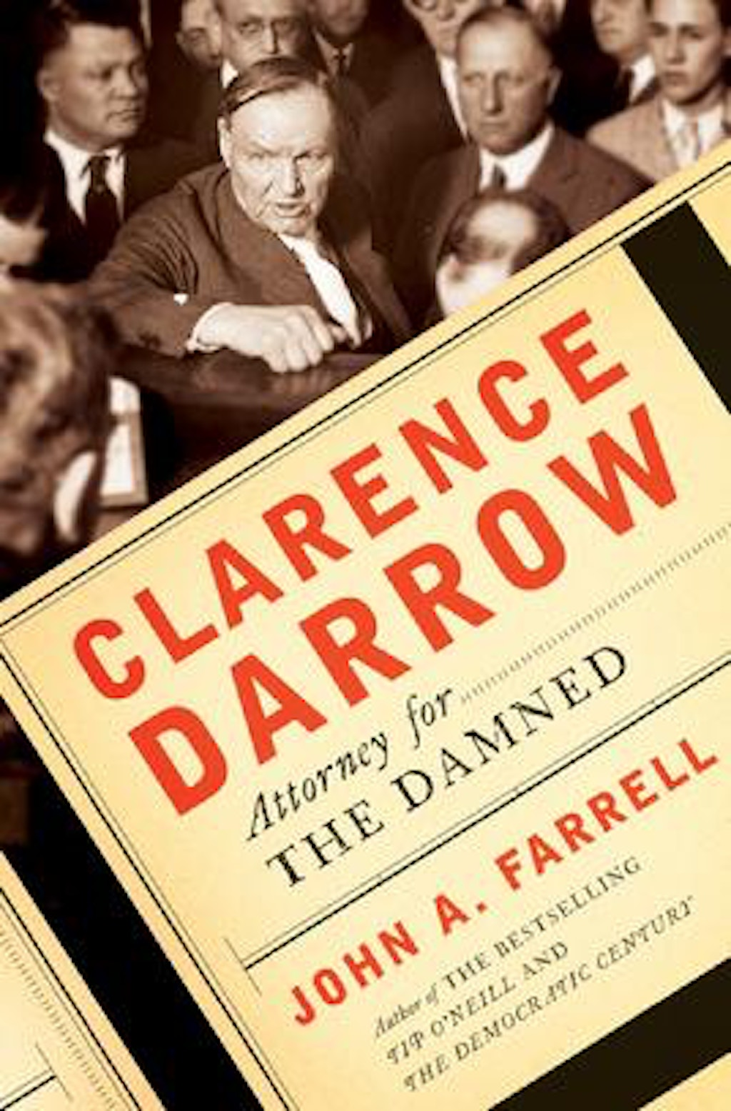 "BOOKS: ""Clarence Darrow: Attorney for the Damned"""