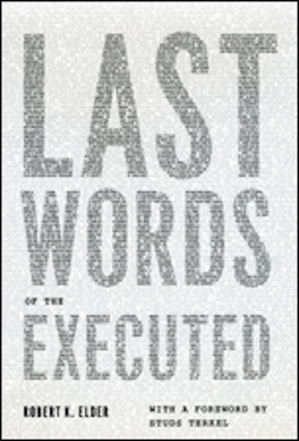 BOOKS: Last Words of the Executed