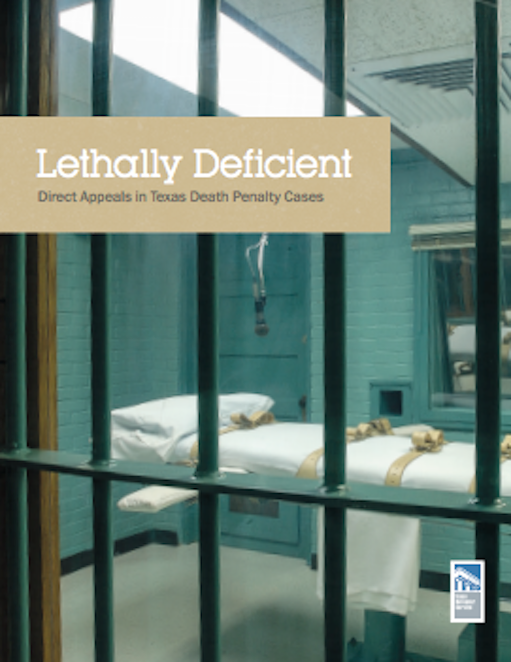 "REPORT: ""Lethally Deficient"" Texas Death Penalty Appeal System in ""Dire Need of Reform"""
