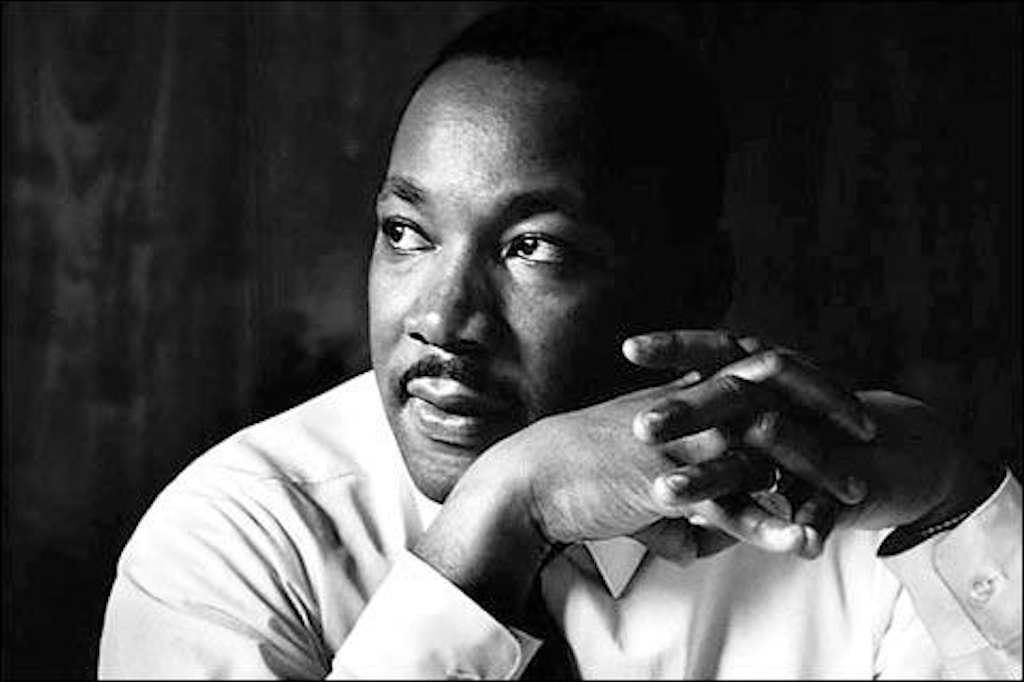 "The Reverend Dr. Martin Luther King, Jr.: ""Hate cannot drive out hate; only love can do that."""