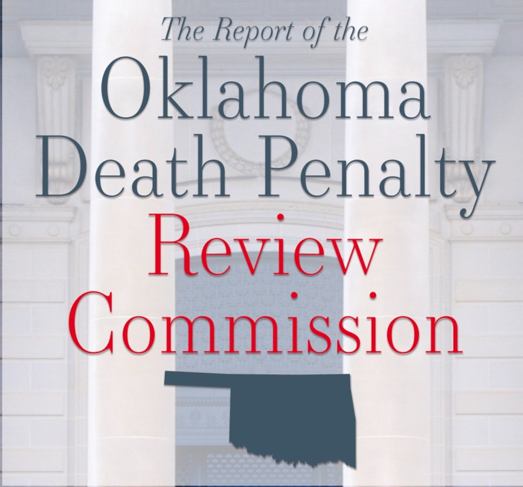 Review Commission Report: Oklahoma Death Penalty Cases Cost Triple That Of Non-Capital Cases