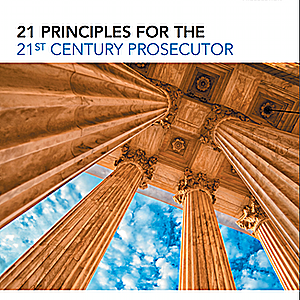 "Report on ""Principles for the 21st Century Prosecutor"" Calls for Prosecutors to Work to End Death Penalty"