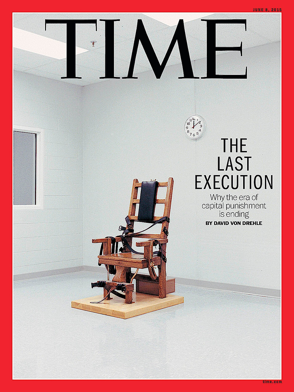 TIME Magazine Poses Five Reasons for Death Penalty Decline