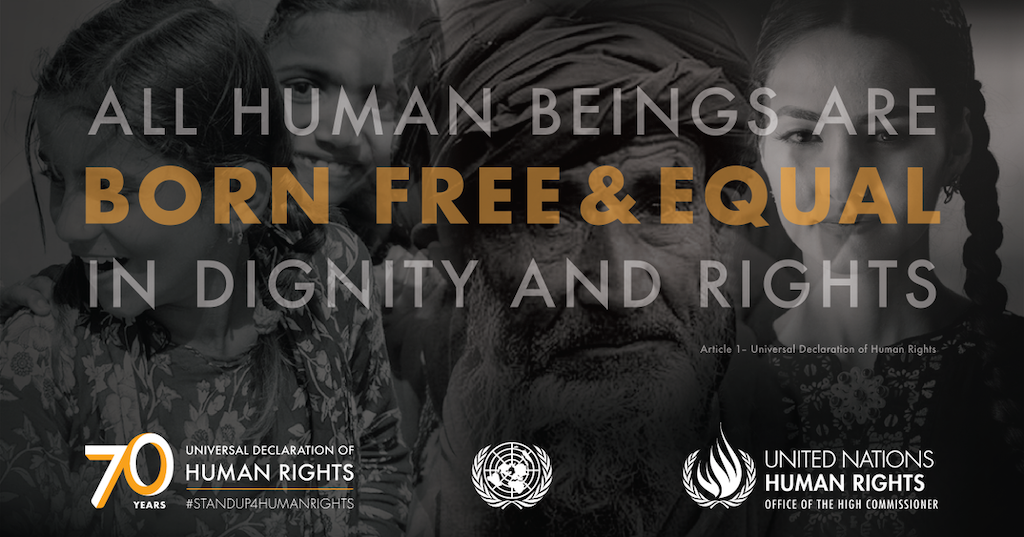 Human Rights Day Marks 70th Anniversary of the Universal Declaration of Human Rights