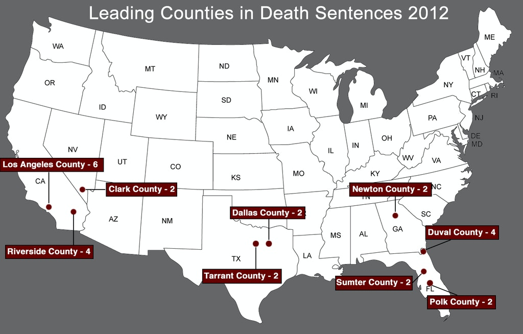 NEW RESOURCES: New Death Sentencing Information for 2012