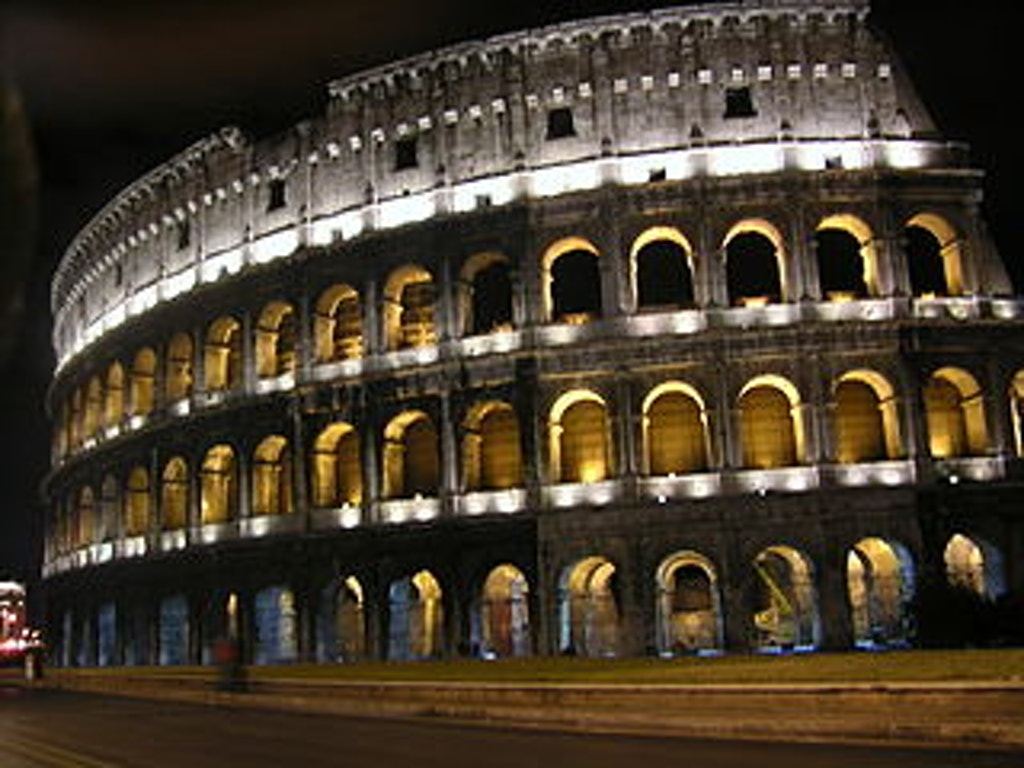 INTERNATIONAL: Roman Colosseum Lit to Mark Connecticut's Abolition of Death Penalty