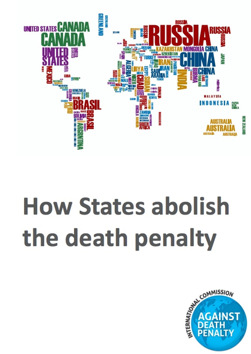 INTERNATIONAL: New Report Examines Countries That Have Abandoned Death Penalty