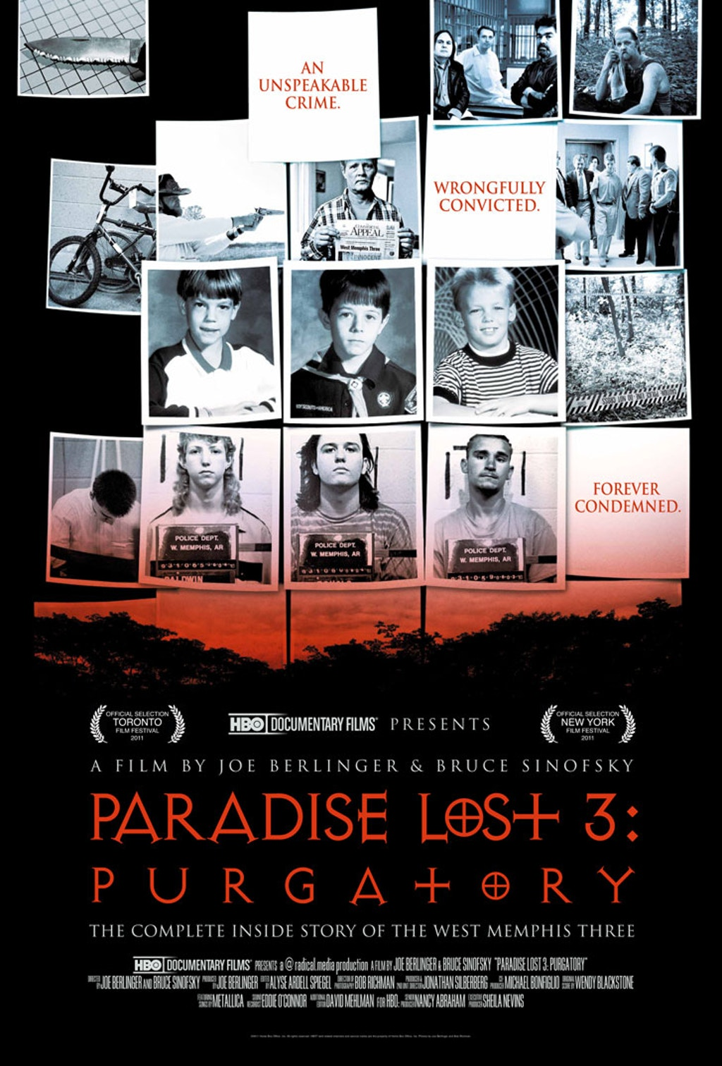 "MULTIMEDIA: New HBO Documentary on Freed Death Row Inmate--""Paradise Lost 3: Purgatory"""