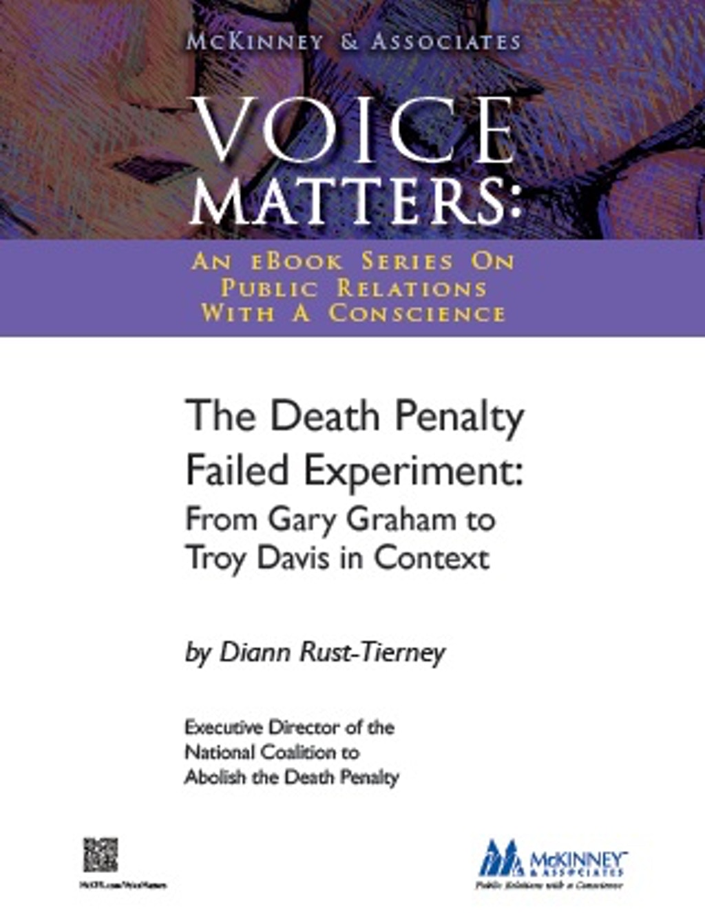 "BOOKS: ""The Death Penalty Failed Experiment: From Gary Graham to Troy Davis in Context"""