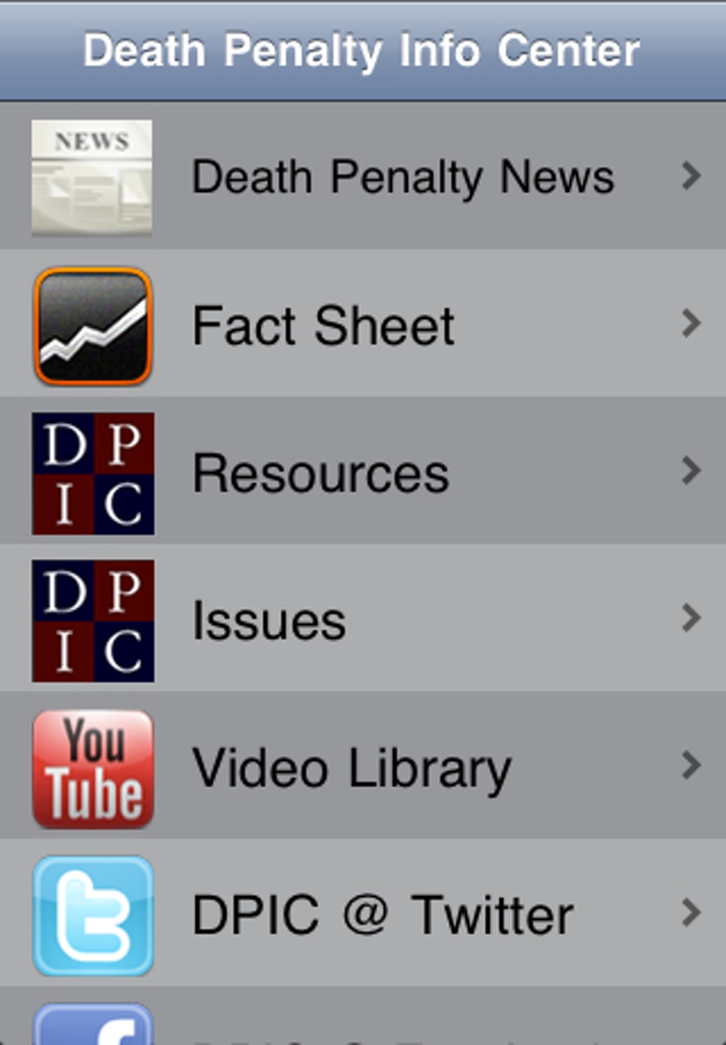 NEW RESOURCES: DPIC Introduces App for iPhone and iPad