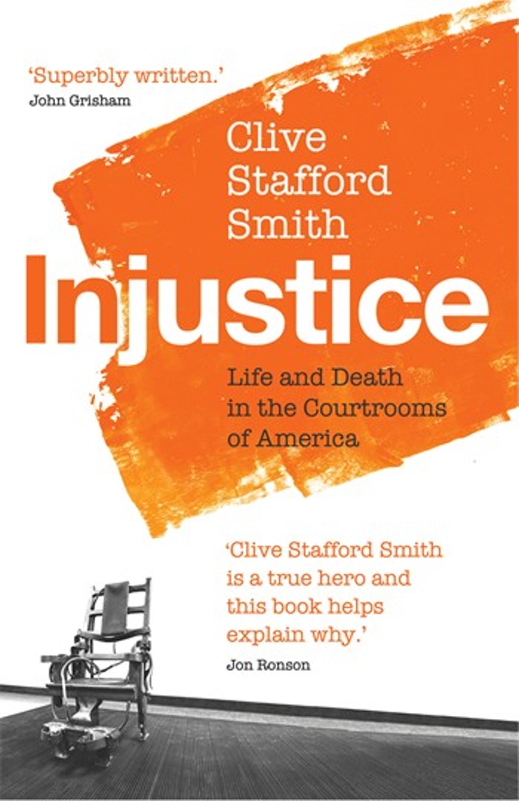 """BOOKS: """"Injustice: Life and Death in the Courtrooms of America"""""""