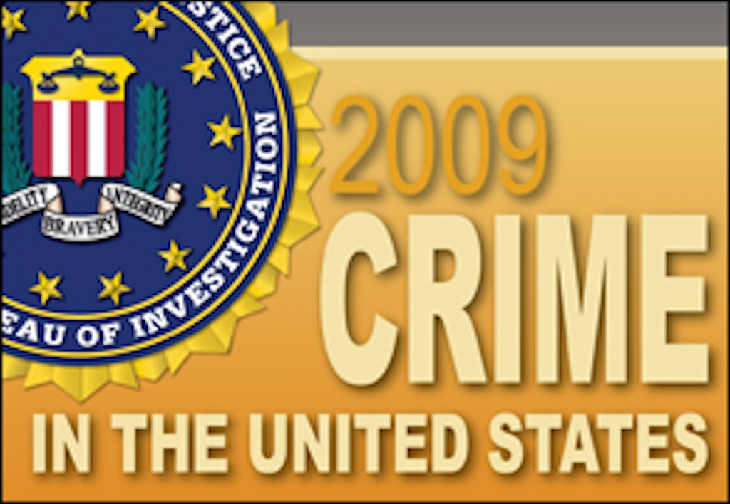 STUDIES: 2009 FBI Crime Report--Murder Rate Highest in the South, Lowest in the Northeast