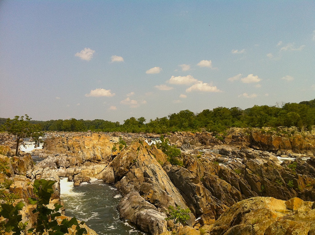 Great Falls National Park.  Photo by Kenneth England.
