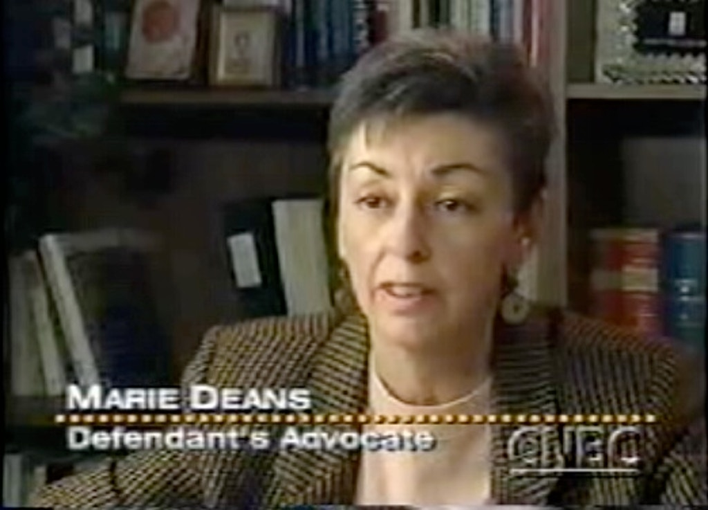 IN MEMORIAM: Marie Deans, A Life of Commitment to Justice and Founder of Murder Victims' Families for Reconciliation