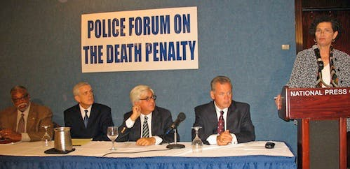 International Dialogue: Police Officials Argue Death Penalty Doesn't Make Us Safer
