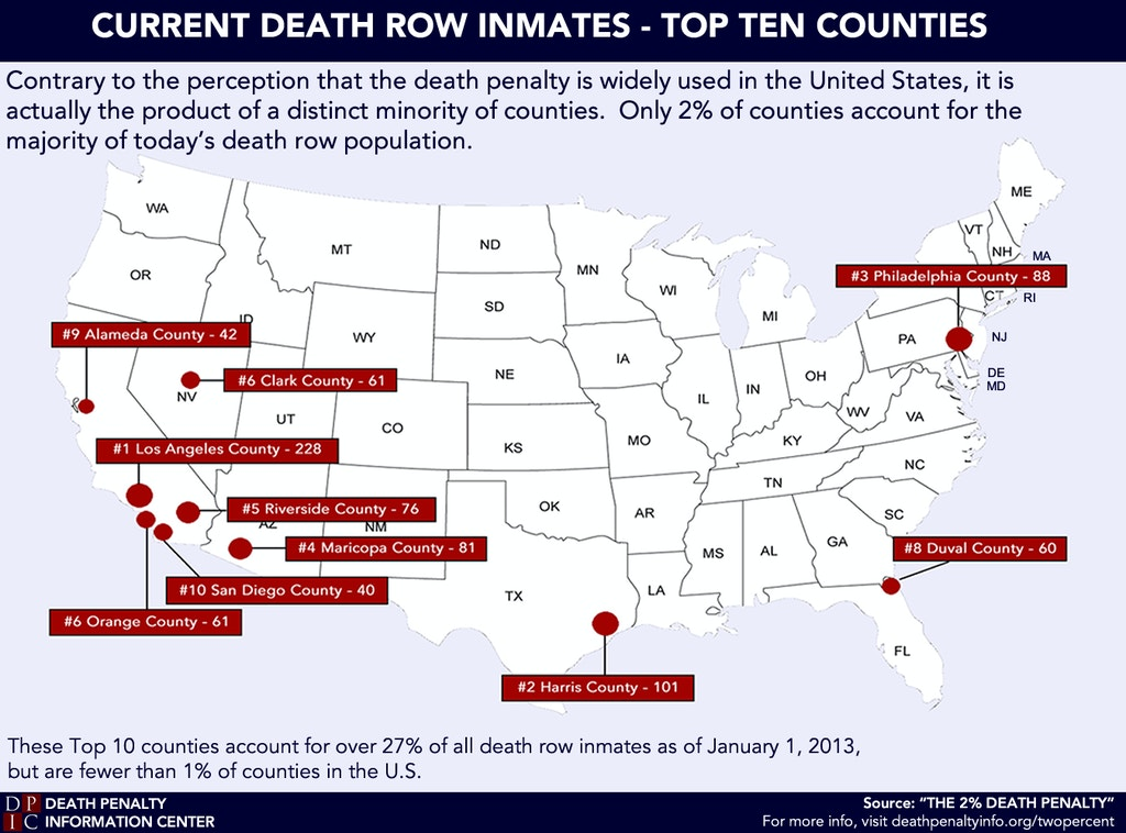 Duval County, Florida, Leader in Death Sentences