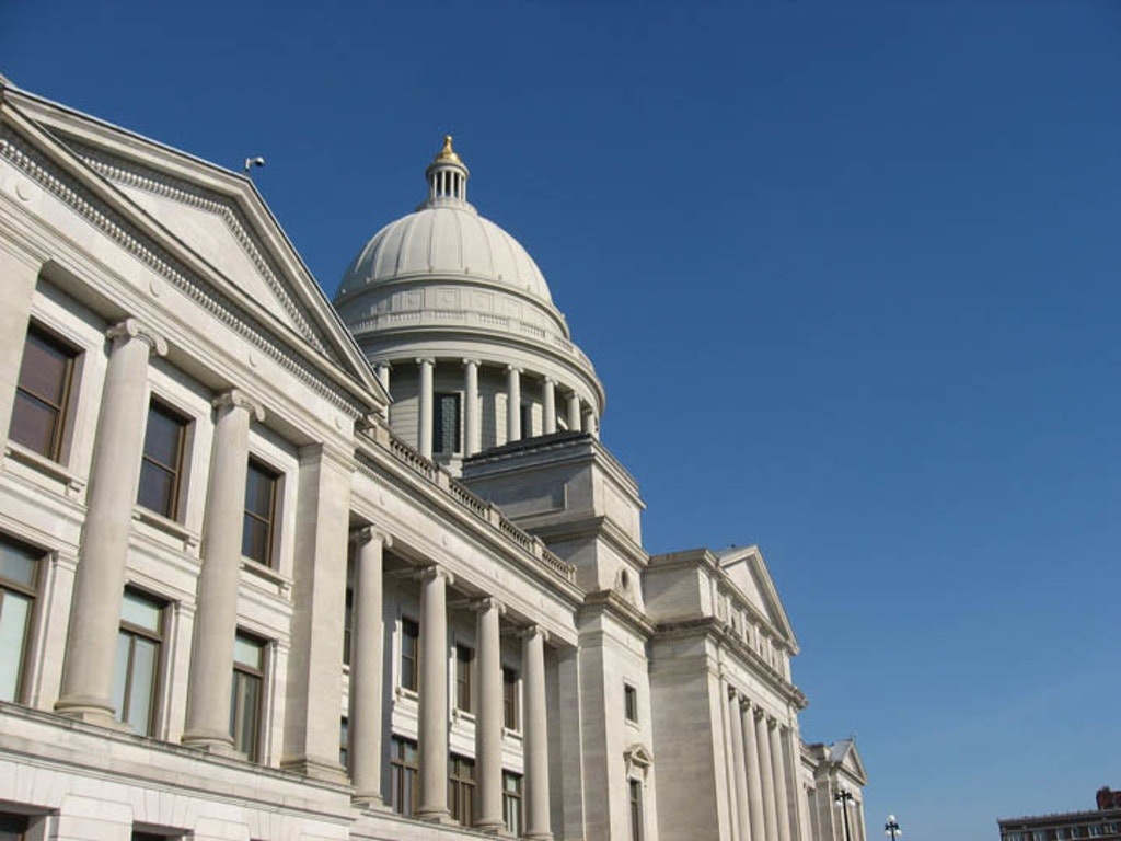 Arkansas State Capitol. Photo by Arkansas Coalition to Abolish the Death Penalty.