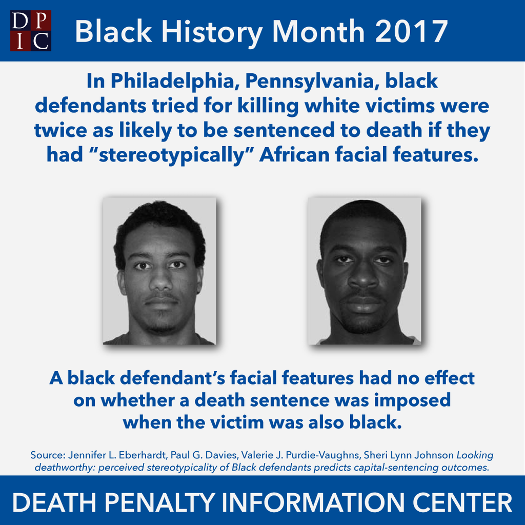 February 23, 2017: Not So Brotherly Love: The Effects of Race on Death Penalty Sentencing in Philadelphia, Pennsylvania