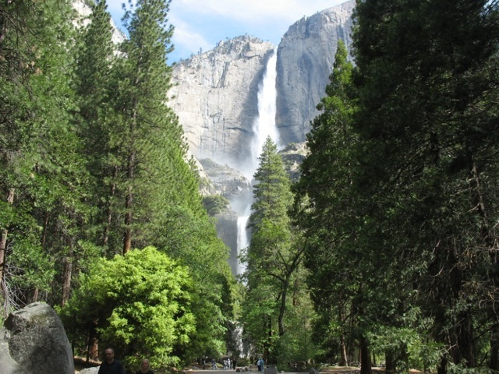 Yosemite Falls, Yosemite National Park. Photo by Maggie Louden.