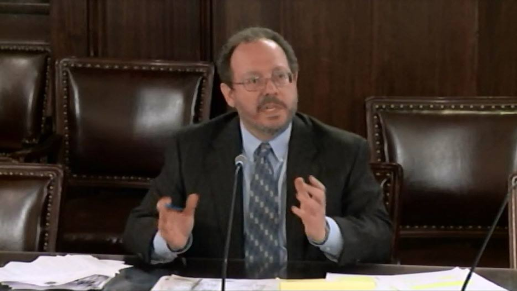 DPIC Executive Director, Robert Dunham, testifies before the Judiciary Committee of the Pennsylvania House of Representatives on June 11, 2015 in legislative hearings on Pennsylvania's death penalty moratorium.