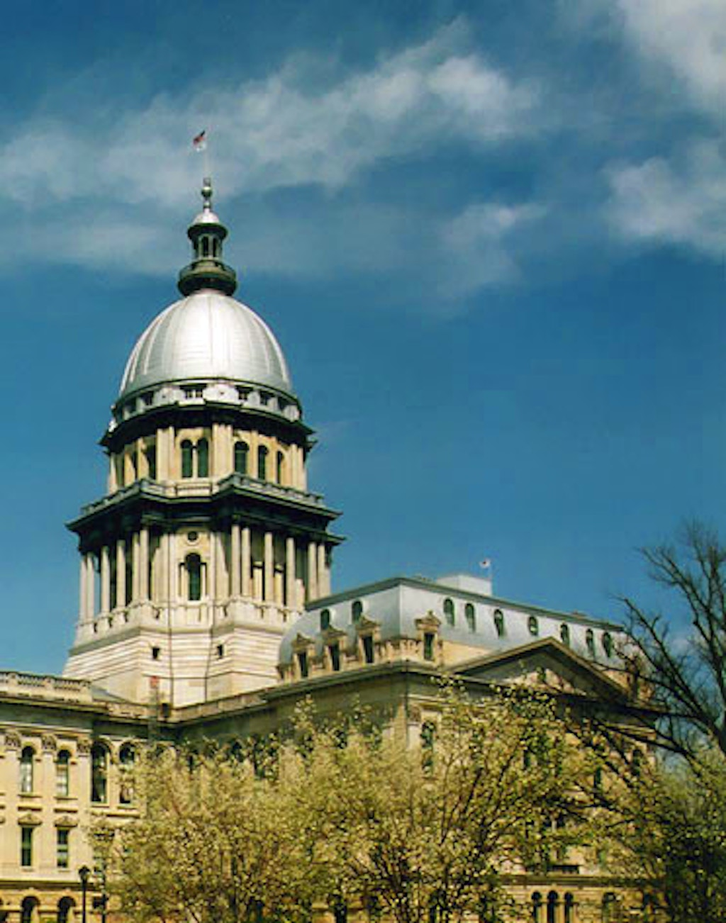 Illinois State Capitol.  Photo by Martin Davis, 2002.