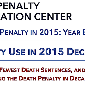 The Death Penalty in 2015: Year End Report